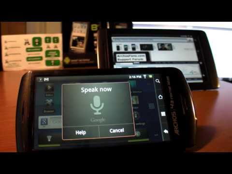 Video: How to install gApps4Archos2 apk on Froyo firmware