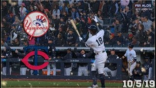 New York Yankees Highlights: ALDS Game 2 vs Minnesota Twins