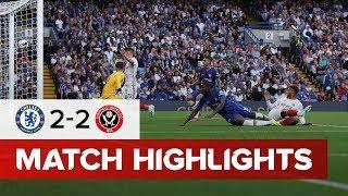 Sheffield United Vs Chelsea   HIGHLIGHTS   Blades net late equaliser