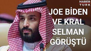 Joe Biden ve Kral Selman görüştü