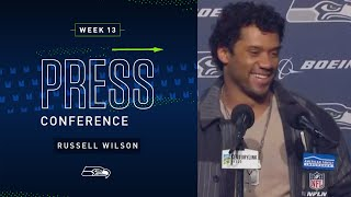 Russell Wilson Postgame Press Conference vs Vikings | 2019 Seattle Seahawks