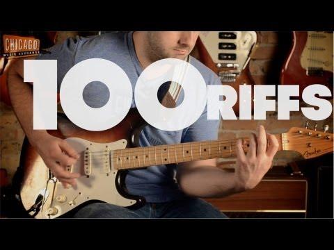 100 Riffs qui ont fait l'histoire du rock