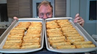 50 Egg Roll Eating Challenge (10,000 Calories)