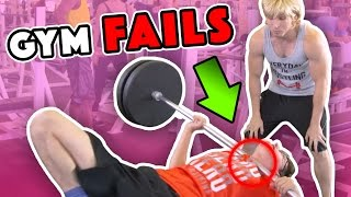 BIGGEST WORKOUT FAILS (BTS)