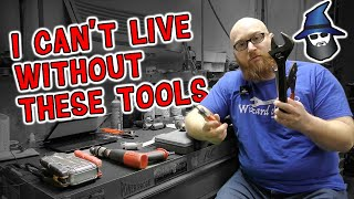 The CAR WIZARD can't live without these tools! 10 tools essential to running a mechanic's shop.