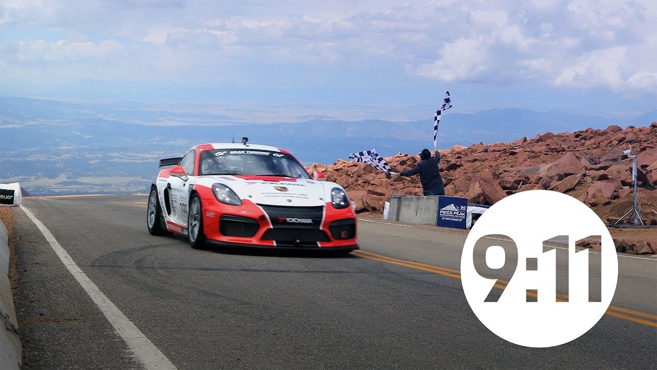 Pikes Peak International Hill Climb: Die Porsche-Historie & die Porsche Cayman GT4 Clubsport Trophy