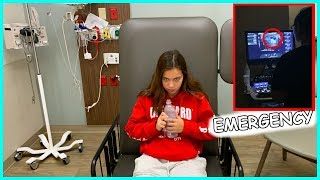 TAKING ALISSON TO THE ER. /  SCARY SITUATION   SISTERFOREVERVLOGS #574