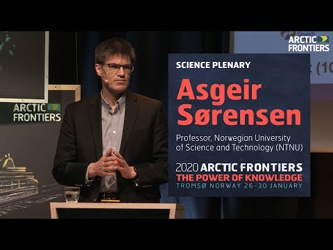 Science plenary - Asgeir Sørensen - Step change in ocean and Arctic research capabilities using auto