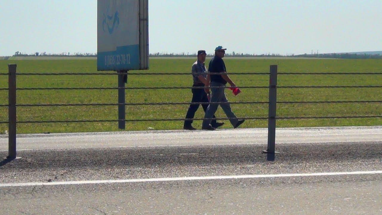 Шахтеры из Гуково преодолели больше половины пути до Ростова