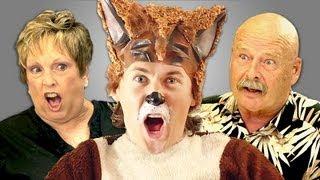 ELDERS REACT TO YLVIS - THE FOX