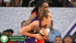 Migos Rapper Quavo Offers NBA 2K Baddie Rachel DeMita a Massage After Celebrity Game Collision -HM