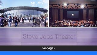Vi portiamo all'interno del nuovo Steve Jobs Theater di Apple