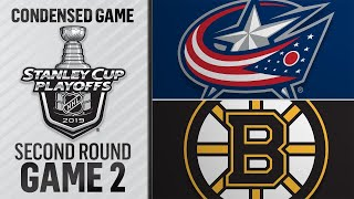 04/27/19 Second Round, Gm2: Blue Jackets @ Bruins