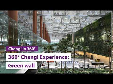The Green Wall 360° Changi Experience