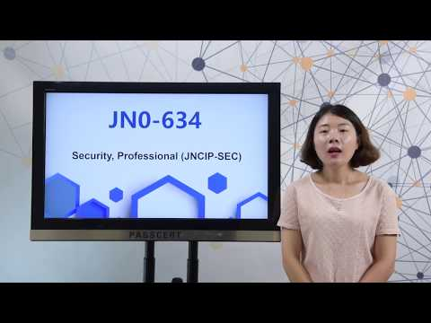 [100% Valid]  JN0-634 dumps,JNCIP-SEC certification JN0-634 study guide