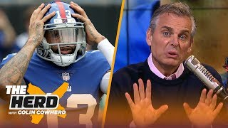 Colin Cowherd defends OBJ criticizing Eli Manning, message for Eagles 'fun' culture   NFL   THE HERD