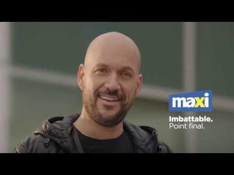 Martin Matte a accepté de participer à cette offensive publicitaire audacieuse, séduit par le désir sincère de l'équipe de direction de Maxi de travailler à demeurer la meilleure bannière à escompte dans l'alimentation.