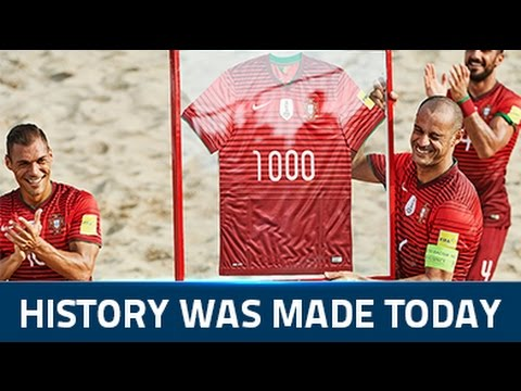 Madjer scores the 1000th goal of his career!