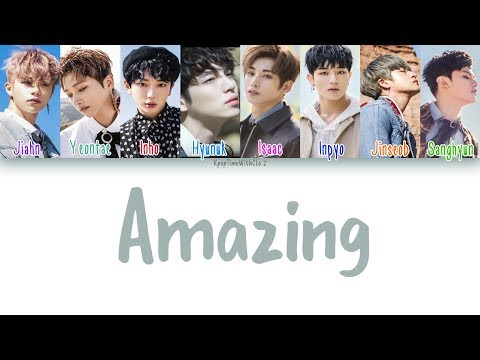 IN2IT (인투잇) - Amazing LYRICS [COLOR CODED HAN|ROM|ENG]