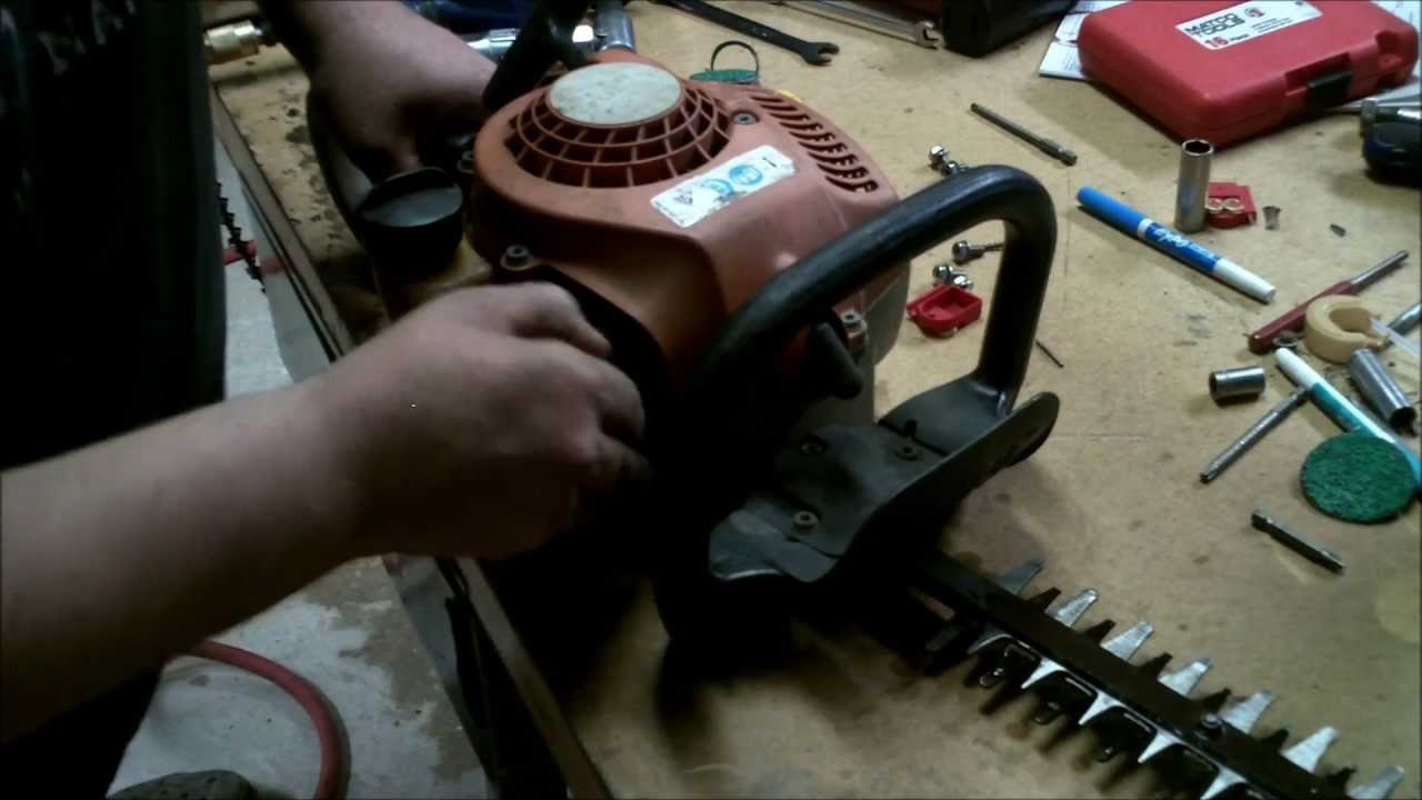 Stihl Hs 45 Hedge Trimmer Repair Quot How To Sharpen Hedge