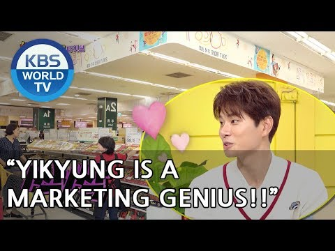 Yikyung is a Marketing Genius!!  [Happy Together/2018.06.28]