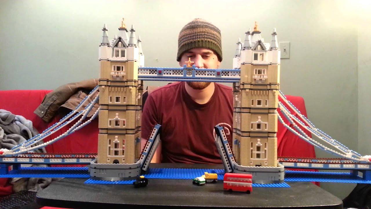 lego tower bridge set 10214 review youtube. Black Bedroom Furniture Sets. Home Design Ideas
