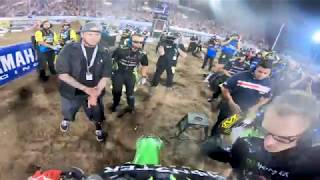 GoPro: Adam Cianciarulo EXTENDED Highlights from Las Vegas Monster Energy Supercross
