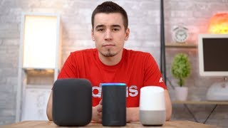 Siri vs Alexa vs Google Assistant - Smark Speaker Edition!