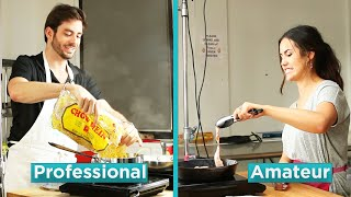 Amateur Chef Vs. Professional Chef: Hangover Foods