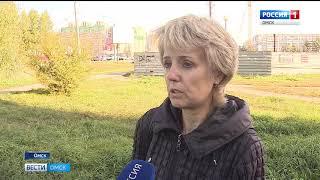 Прямо на границе парка 300-летия Омска развернулась масштабная стройка