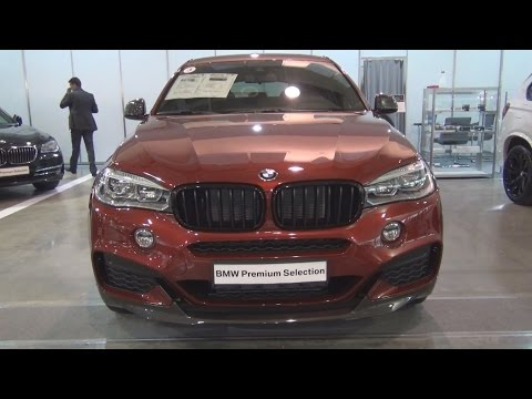 BMW X6 xDrive M50d (2016) Exterior and Interior in 3D