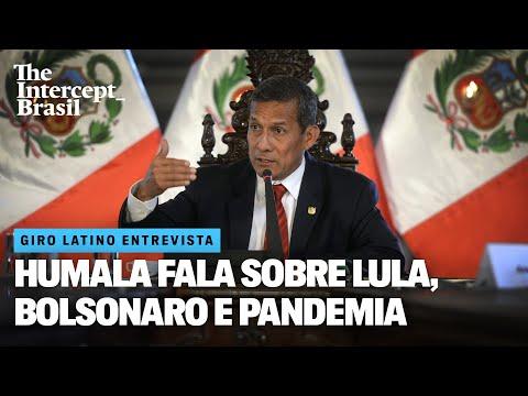 Ex-presidente Humala fala sobre Lula, Bolsonaro e covid-19 no Peru