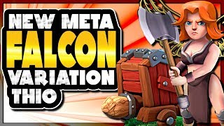 TOWN HALL 10 FALCON VARIATIONS | WITH and WITHOUT THE WALL WRECKER | Clash of Clans