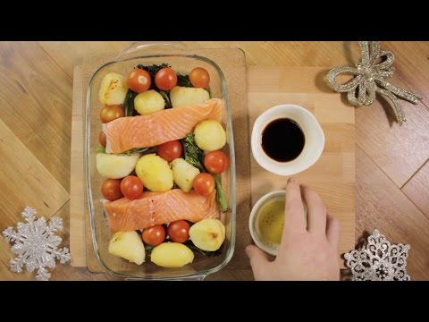 12 Veg of Christmas - One-Pan Salmon