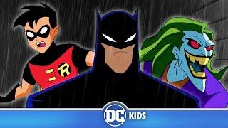Batman and Robin VS The Joker | Classic Batman Cartoons | DC Kids