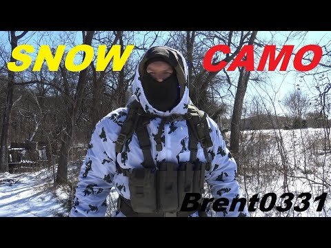 INFANTRYMAN'S GUIDE: Basic Principles For Individual Snow Camouflage