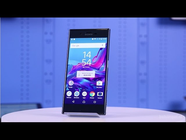 Belsimpel.nl-productvideo voor de Sony Xperia XZ Silver