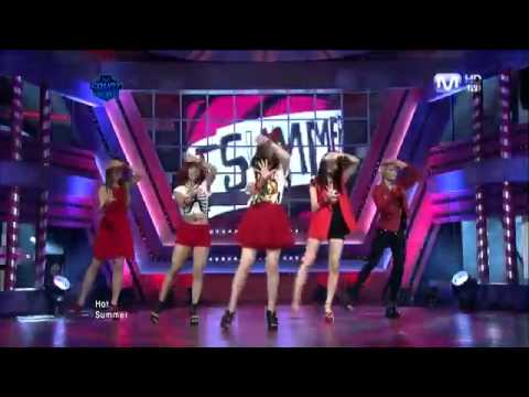f(x) - Hot Summer@ Comeback Stage
