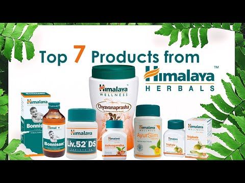 Best Selling Products from Himalaya Herbals | Healthfolks.com