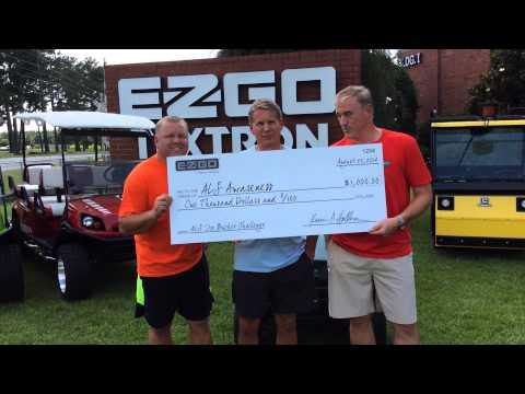 E-Z-GO Accepts ALS Ice Bucket Challenge