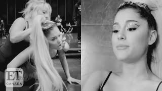 Lady Gaga Scratches Ariana Grande's Eye On 'Rain On Me' Shoot