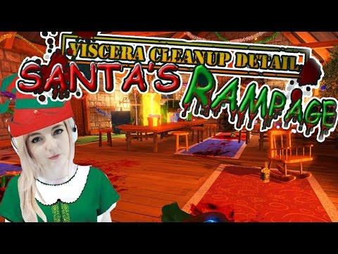 Christmas Elf Clean-up | Santa's Rampage Viscera