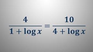 Logaritemska enačba 15