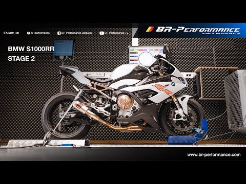 BMW S1000RR / Stage 2 By BR-Performance / Akrapovic Exhaust