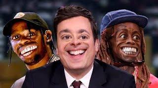 Lil Wayne & Travis Scott Get Weird with Jimmy Fallon