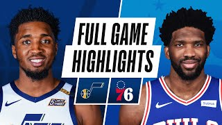 JAZZ at 76ERS | FULL GAME HIGHLIGHTS | March 3, 2021