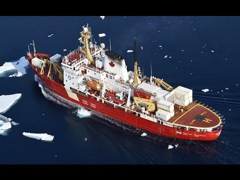 Vidéo : FONDATION CANADIENNE POUR L'INNOVATION - Le brise-glace de recherche canadien