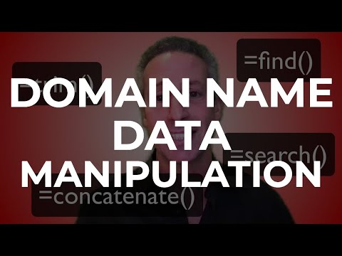 Domain Name Data Manipulation by DNAcademy