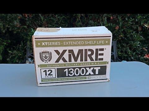 Testing XMRE (Meal Ready to Eat) Military MRE Taste Test