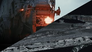 First Order AT-M6 and NEW Star Destroyer REVEALED!!!